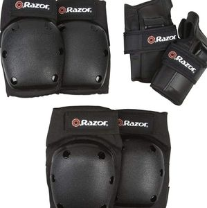 Razor multi sport wrist knee and elbow guards